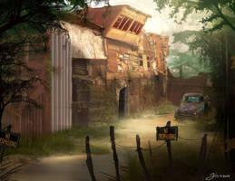 Ramshackle Refuge by JayceStock