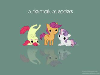 Cutie Mark Crusaders by cappydarn