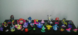 Figurines I made of clay by mayfirerose
