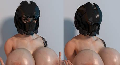 Tactial helmet M71 by Mishai