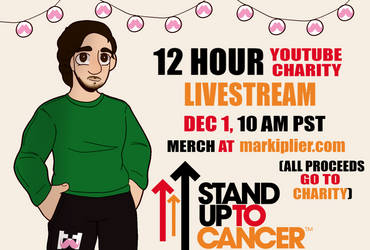Charity Livestream - Dec 1, 10 AM PST by skittlescoke