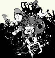 Kingdom Hearts by Elisuz