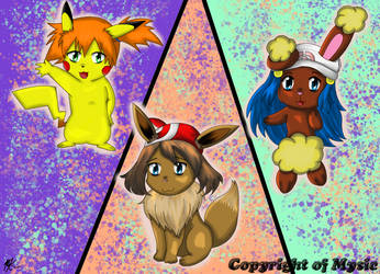 Trainers as Pokemon! by MySiC