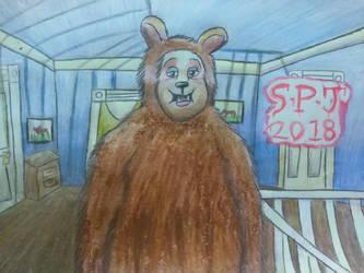 Bear from The Shining by Romethehybrid