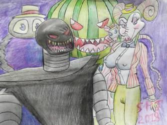 Science Fiction Fairy tale villains by Romethehybrid
