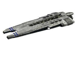 Battle carrier SBC-01 SOLITUDE by Triumviratus