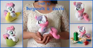 Plush Pony Little Sweetie Belle by Burgunzik