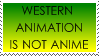 Western Cartoons are Not Anime by jocund-slumber