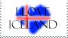 Iceland Stamp by jocund-slumber