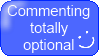 Comments Optional Button by jocund-slumber
