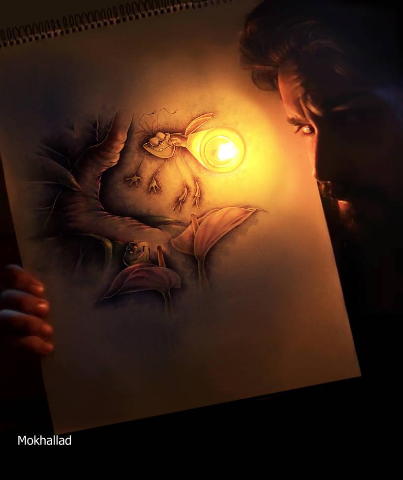 Lighting Bug by mokhallad-habib