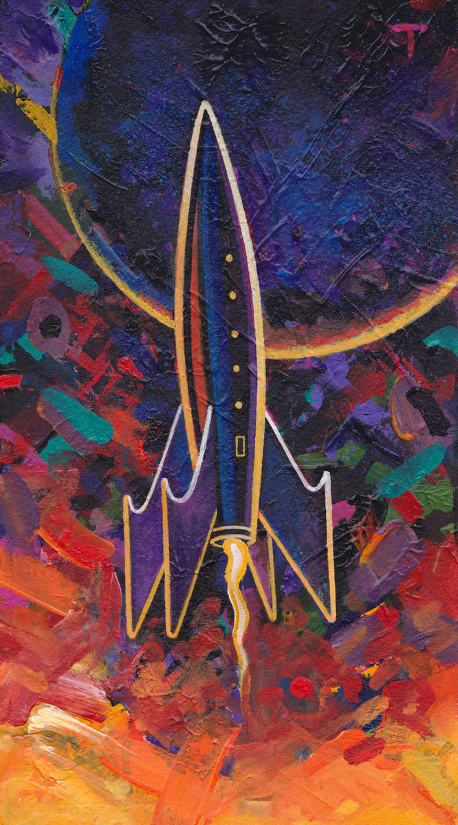 Rocket #101 by peterthorpe