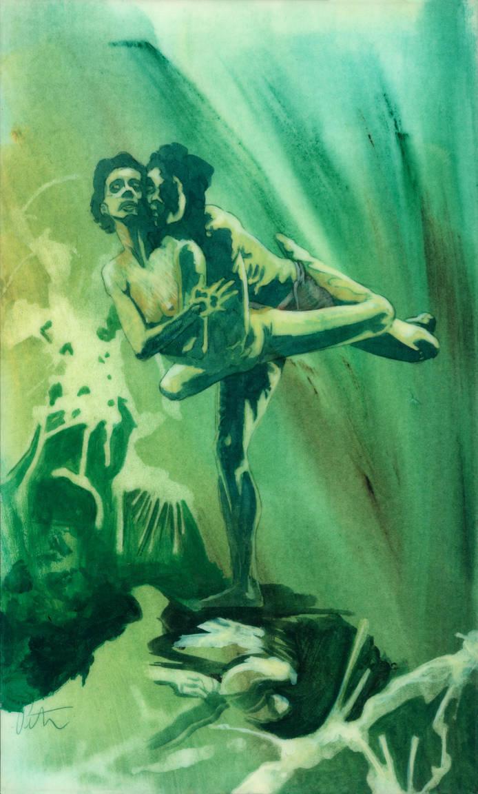 Green Dancers by peterthorpe