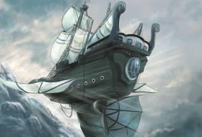 sky ship by atama-studio