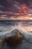 Heavy sea by koposs