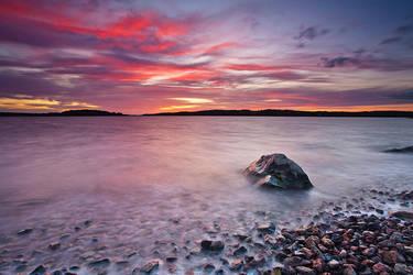 autumn sunset II by koposs