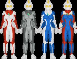 Ultrawoman Luna by SteelKomodo