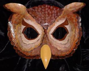 Screech Owl by TigerTorreArt