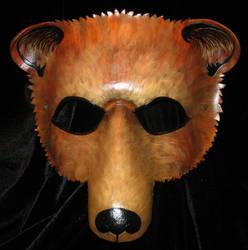 Golden Brown Bear by TigerTorreArt
