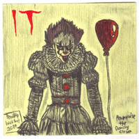 It (2017)-Pennywise the Dancing Clown by PenciltipWorkshop