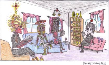The Apocalypse Club- Ede Valley by PenciltipWorkshop