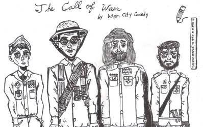The Call of Warr- Wham City Comedy by PenciltipWorkshop