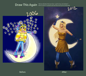 Draw This Again meme by Julia-Aurora