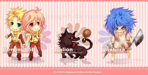 RO : Chibi Monsters V1 by Itasugen