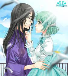 Gaia Online:  Ken and Moonbeam by Itasugen