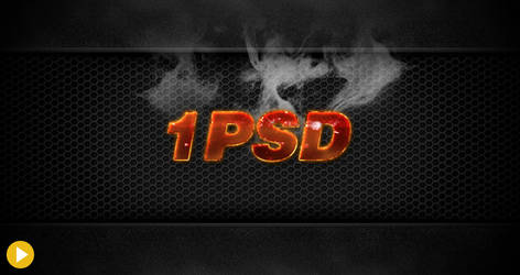 Magma Hot Text Effect by 1PSD