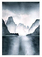Li River Watercolor by The-Starhorse