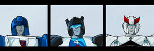 Autobot Head Shots by The-Starhorse