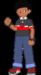 Kevin Jr Trainer (Pokemon OC Vector) by KevinToons915