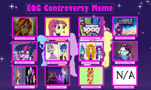 MLP - Equestria Girls Controversy Meme by Train48