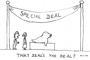 Seal Cartoon by Someonelikemyself
