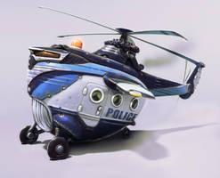 chopper wip2 by sittingducky