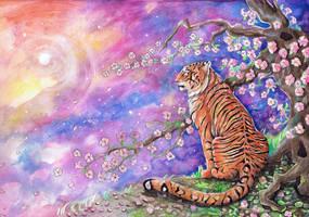 Tiger Blossom by dawndelver
