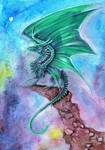 Emarld Dragon 2 by dawndelver