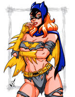 Savage Land Batgirl by gb2k