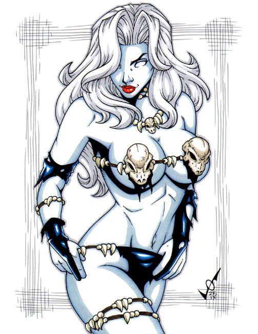 Savage Land Lady Death by gb2k