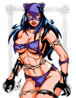 Savage Land Catwoman by gb2k