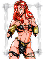 Savage Land Black Widow by gb2k