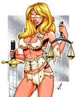 Lady Justice commission 2 by gb2k