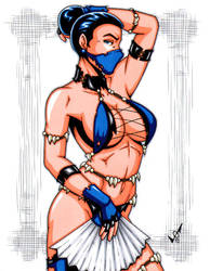 Savage Land Kitana by gb2k