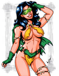 Savage Land Phantom Lady by gb2k