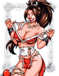 Savage Land Mai commission by gb2k