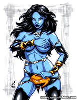 Savage Land Shadow Lass by gb2k