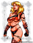 Savage Land Stunner commission by gb2k