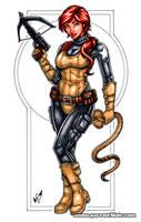 Scarlett Bodyshot Commission by gb2k