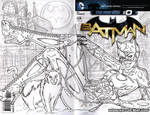 Catwoman cover WIP 2 by gb2k